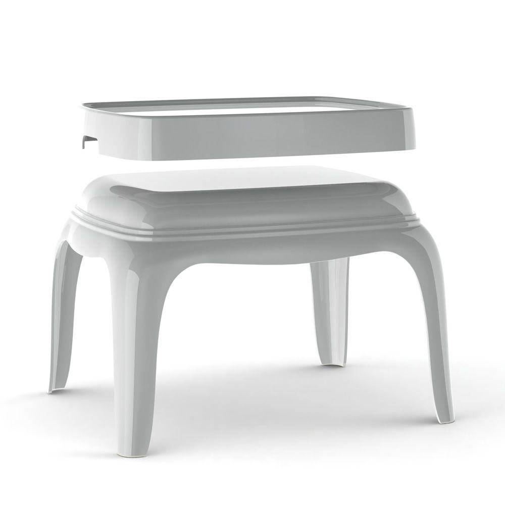 Pasha 661 tavolino pouf pedrali moderno in for Tavolino vassoio