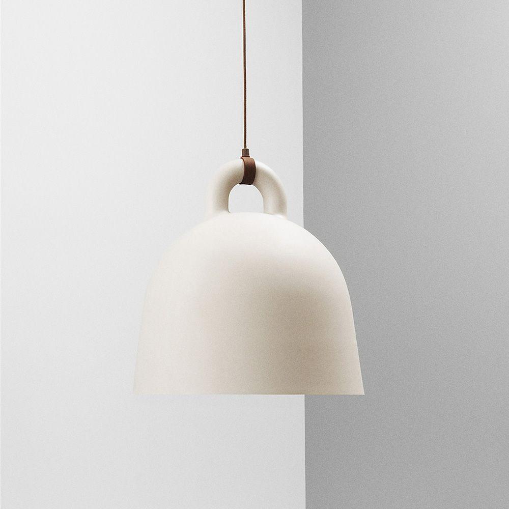 Bell - Lampada a sospensione Normann Copenhagen in alluminio, diverse misure e colori ...