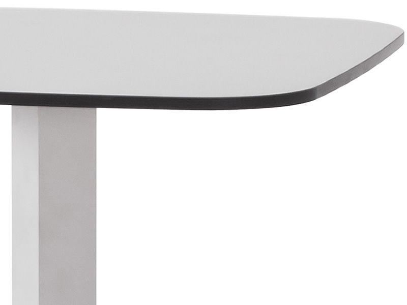 Shine h pour bars et restaurants table haute en - Table haute plan de travail ...