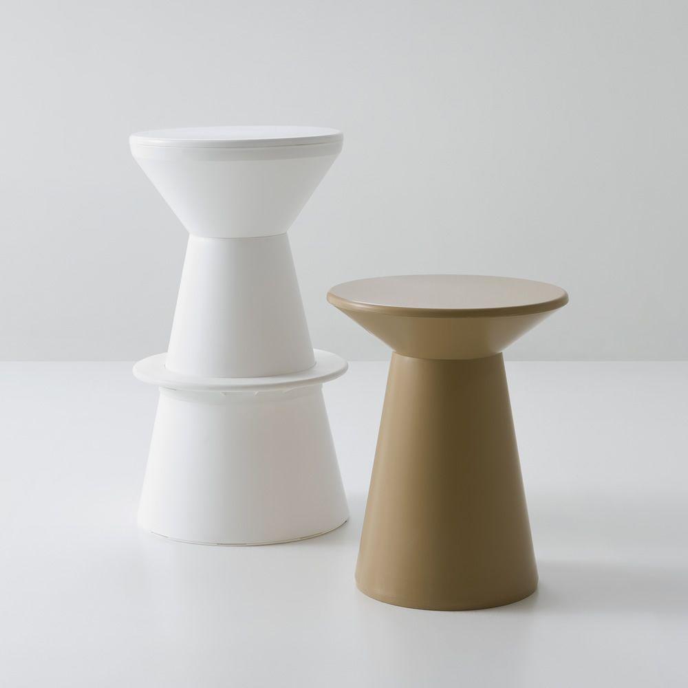 Roller s: tabouret design en technopolymère, en différentes ...