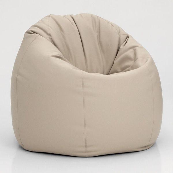 7303 Asola: Pouf - fauteuil en cuir écologique de Tonin Casa, différentes cou...