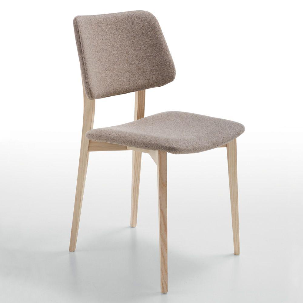 Sgabello Anni 70 Tessuto Joe Midj : Joe l sedia midj in legno diversi rivestimenti sediarreda