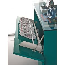 Hosoi-096 - Entrance furniture-shoe rack with two doors, available in several colours