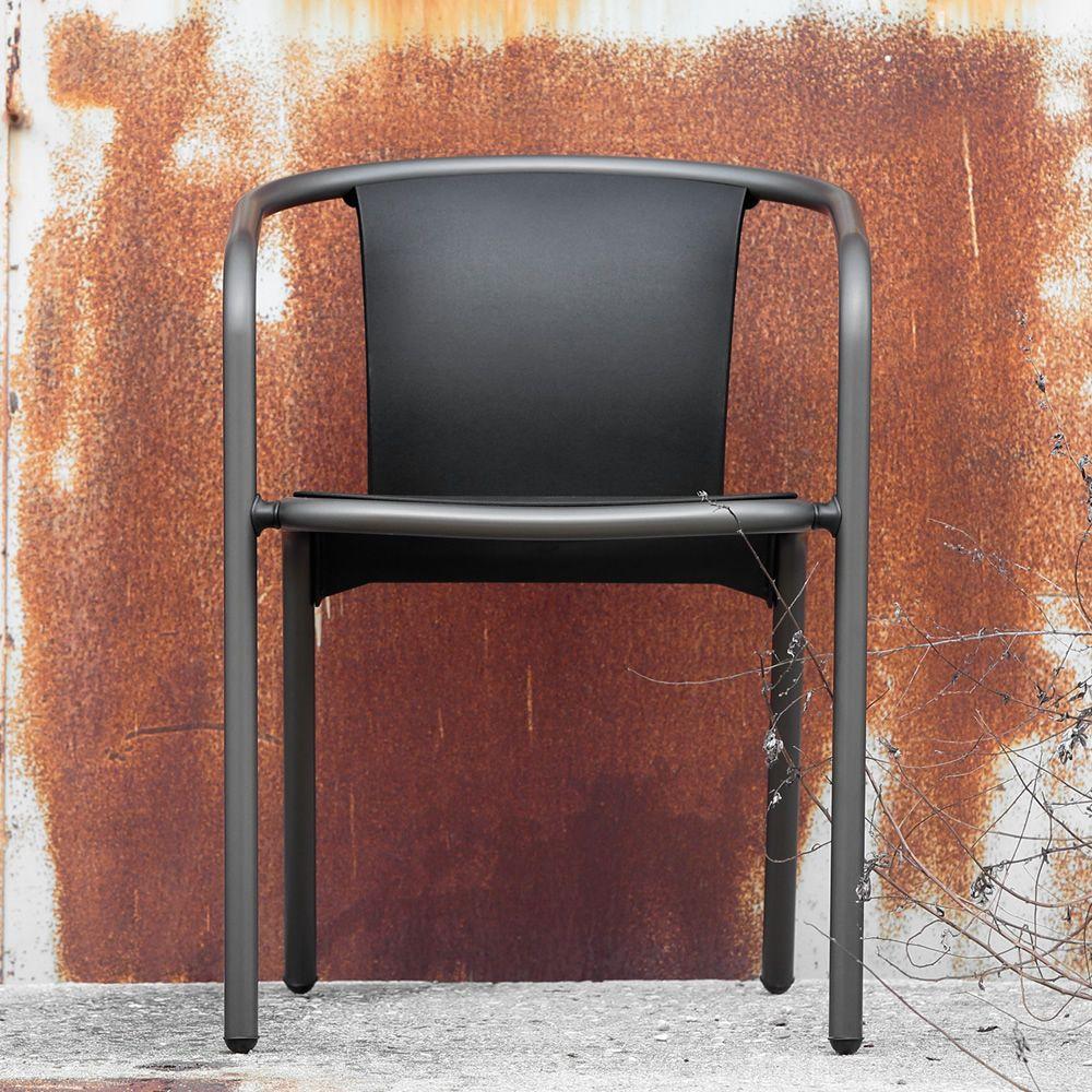 Mar per bar e ristoranti sedia design in alluminio e for Sedie alluminio