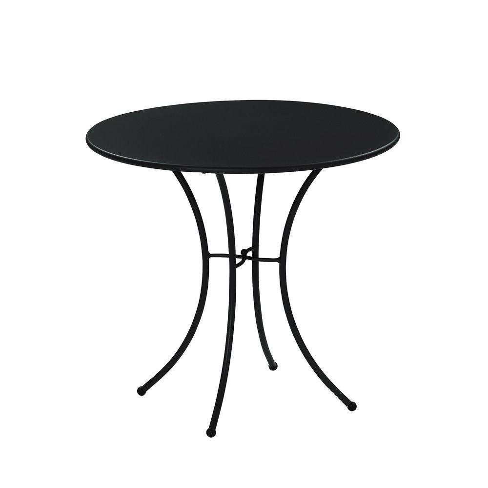 pigalle metalltisch emu mit runder platte 80 cm f r garten sediarreda. Black Bedroom Furniture Sets. Home Design Ideas