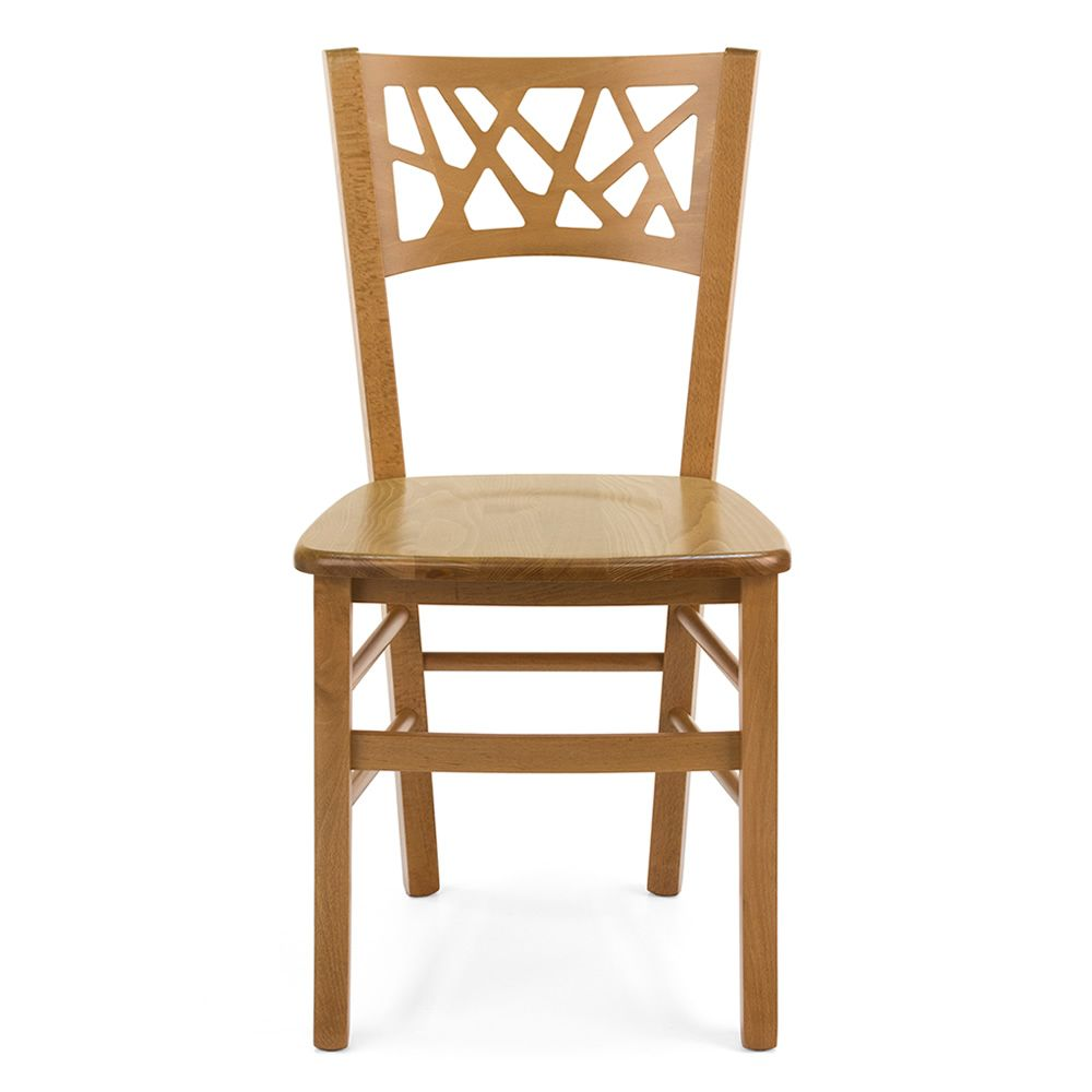 Mu170 For Bars And Restaurants Modern Chair In Wood For