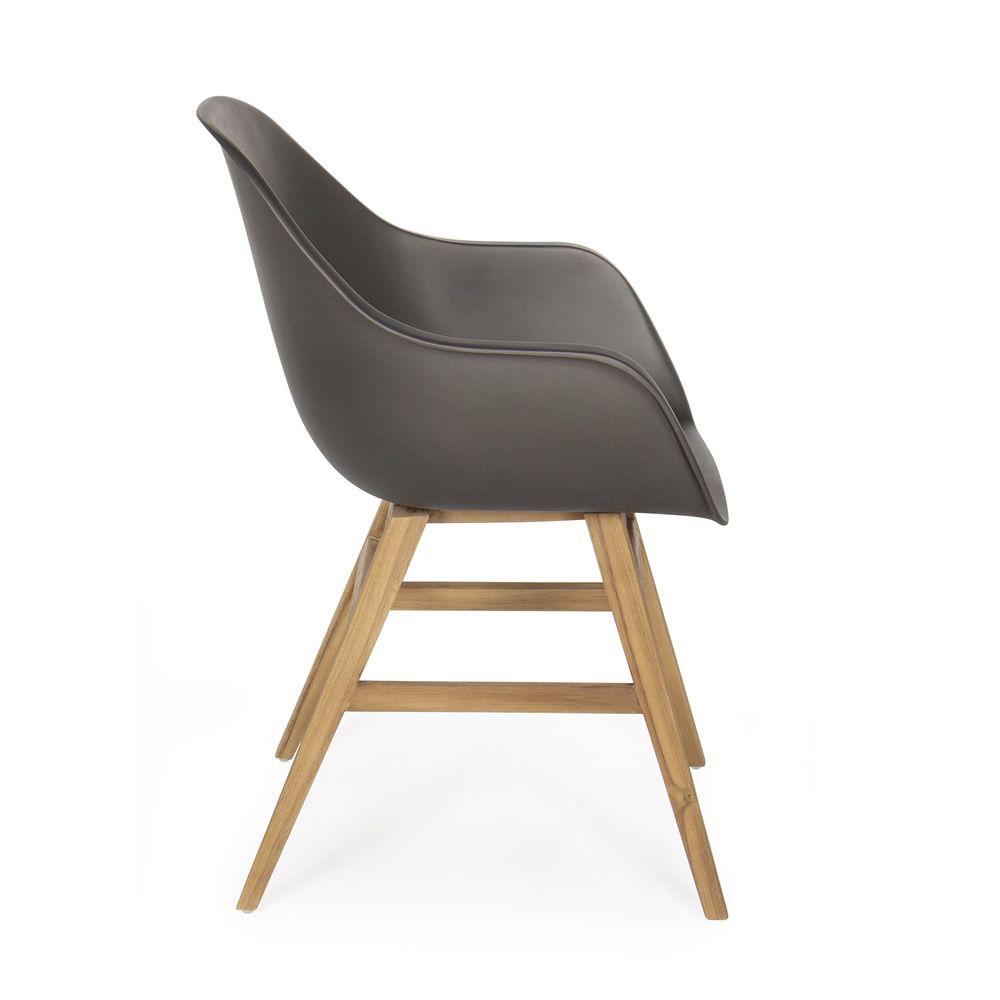 sila p sessel aus teakholz mit sitz aus glasfaser auch f r den garten sediarreda. Black Bedroom Furniture Sets. Home Design Ideas