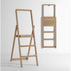 Step - Folding ladder made of wood, different colours available