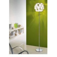 FA2981T - Modern floor lamp made of metal and glass