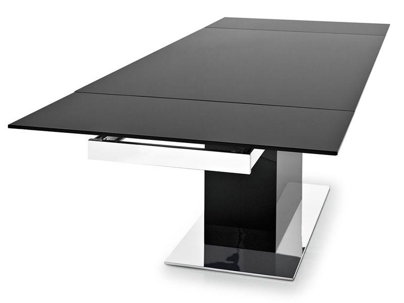 Cs4039 gr park glass tavolo calligaris park base e vetro nero - Tavolo calligaris in vetro ...