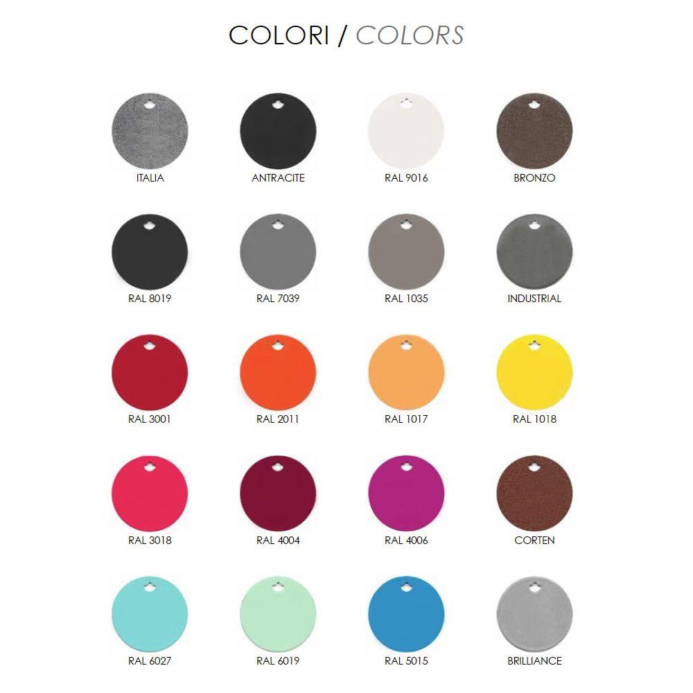 rig49 pour bars et restaurants table ronde en m tal diam tre 80 cm en diff rentes couleurs. Black Bedroom Furniture Sets. Home Design Ideas
