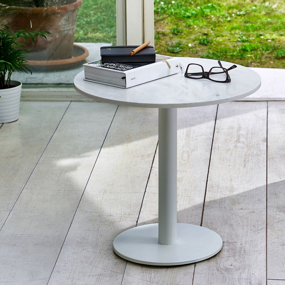 Round Coffee Table Sizes: Infiniti Round Coffee Table In Metal, Top In