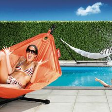 Headdemock - Fatboy freestanding hammock, different colors available, for outdoor
