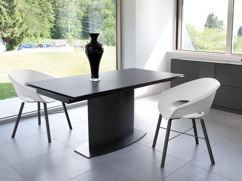discovery c tisch domitalia aus metall oder furnierholz keramikplatte 160 x 98 cm. Black Bedroom Furniture Sets. Home Design Ideas