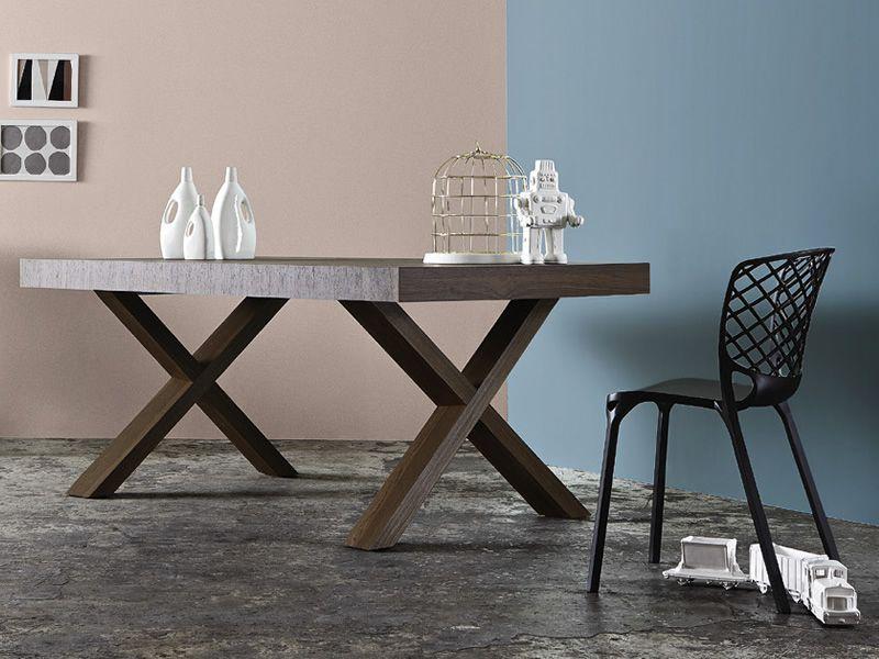 Cs4083 r two tavolo allungabile calligaris in legno for Calligaris tavoli allungabili legno