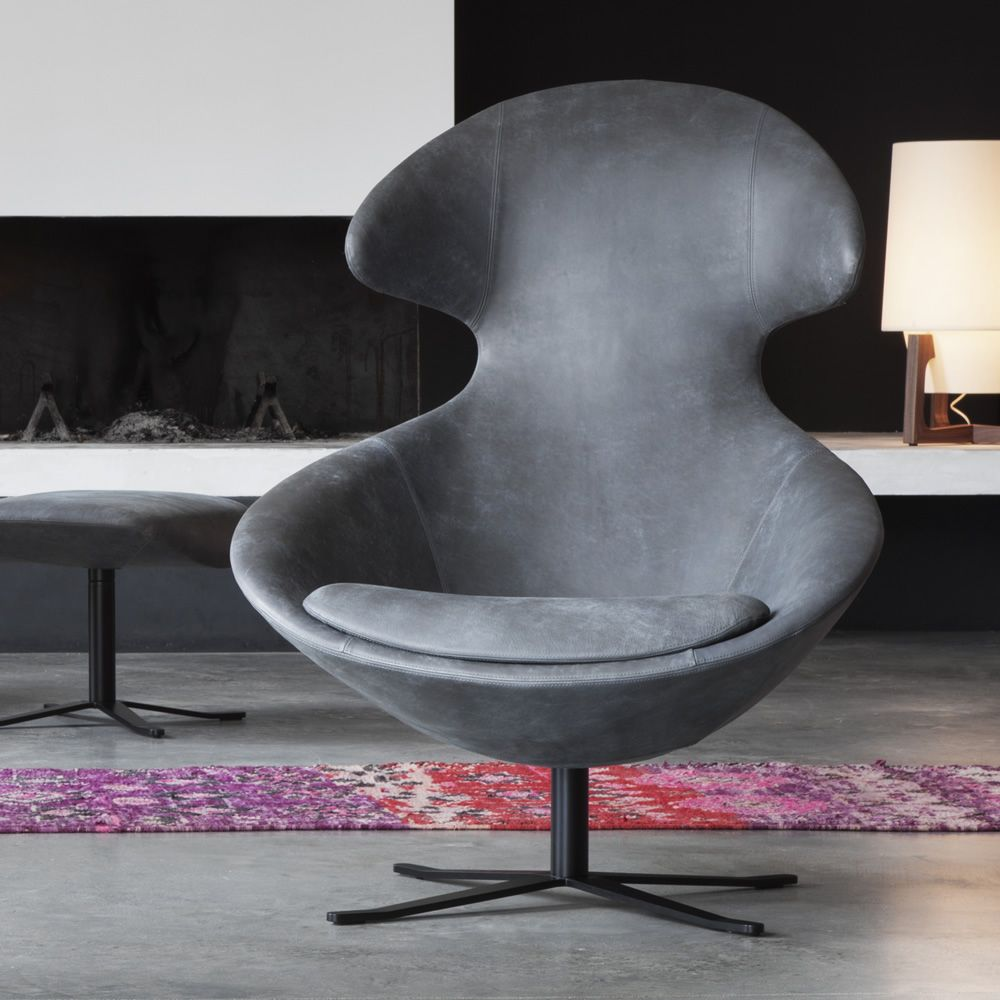 Loft Chair Tonon Metal Armchair With Padded Seat