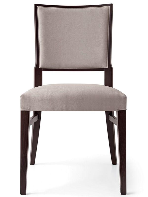 510 chaise moderne en bois recouverte en tissu en diff rentes couleurs sediarreda. Black Bedroom Furniture Sets. Home Design Ideas