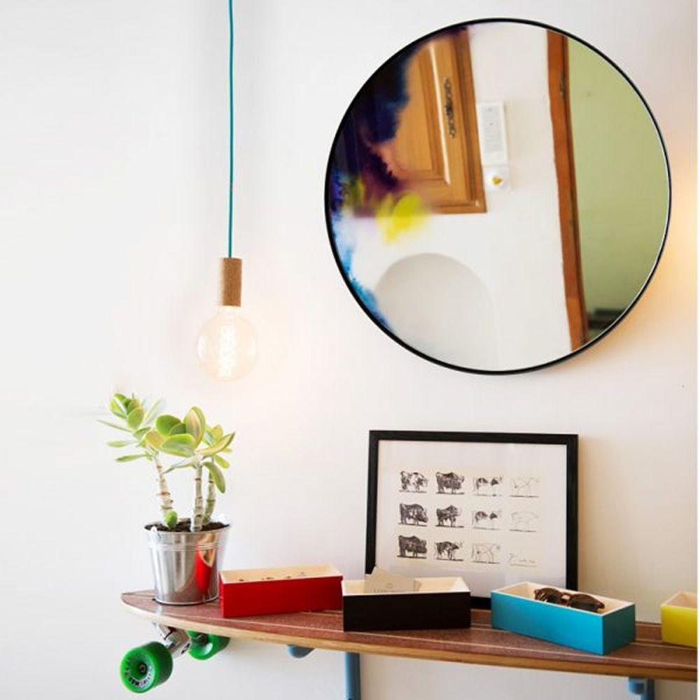 Francis specchio rotondo petite friture disponibile in diverse misure - Specchio parete grande ...