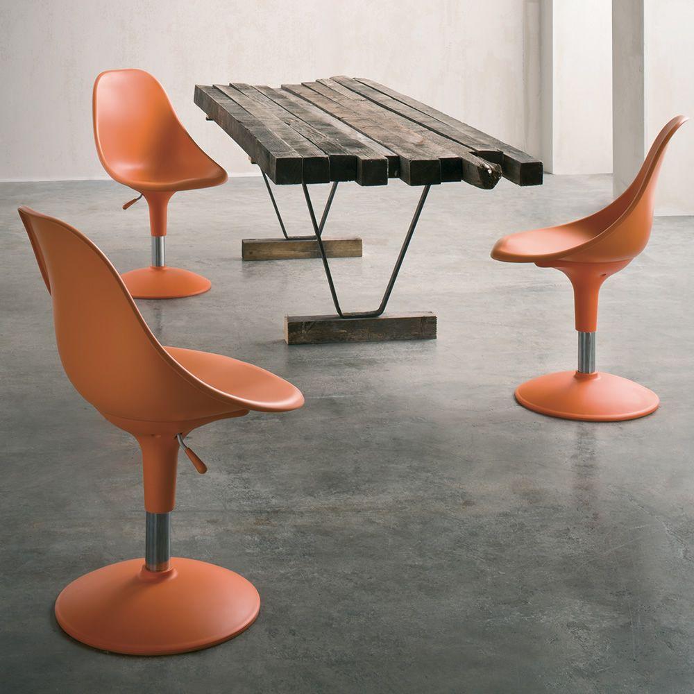 Harmony chaise tournante et r glable assise en - Chaise de sejour design ...