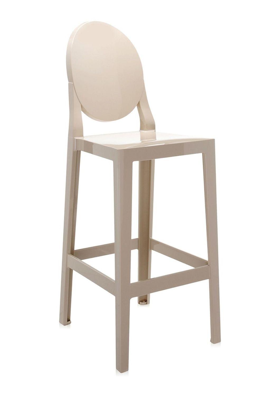 one more tabouret kartell design en polycarbonate. Black Bedroom Furniture Sets. Home Design Ideas