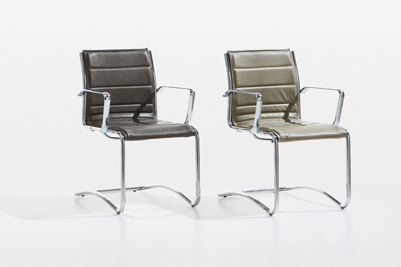 comet host chaise visiteur de bureau avec ou sans accoudoirs disponible en tissu en cuir ou. Black Bedroom Furniture Sets. Home Design Ideas