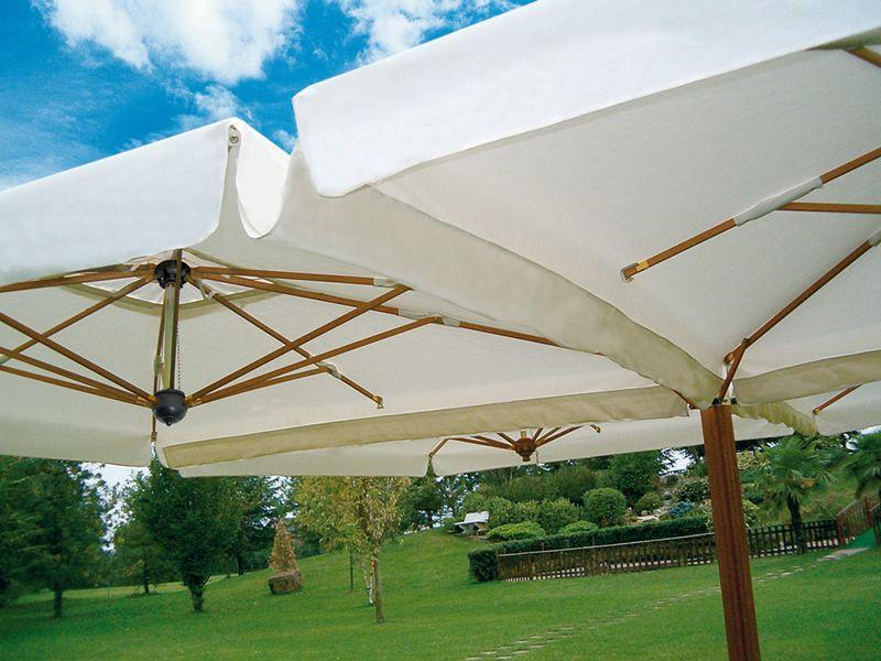 omb40 pour bars et restaurants parasol d 39 ext rieur double ou quadruple de grandes tailles. Black Bedroom Furniture Sets. Home Design Ideas