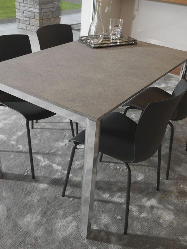 Rap sedia colico in acciaio seduta in polipropilene for Sedie acciaio