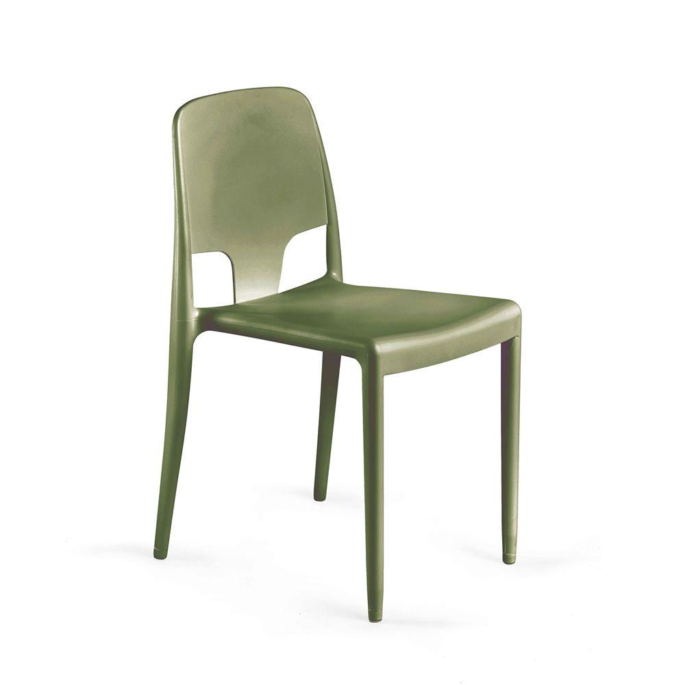 Margot pop silla infiniti de polipropileno apilable en - Sillas para exteriores ...