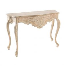 Reale Consolle - Shabby chic consolle in wood, 100X38 cm, height 72 cm