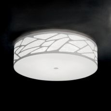 Grace Cylinder - Lámpara de techo o de pared de diseño, en metal, disponible en distintos tamaños