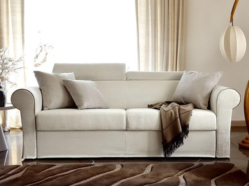 Asia sof cama cl sico de 2 o 3 plazas maxi con reposacabezas reclinable - Sofa cama clasico ...