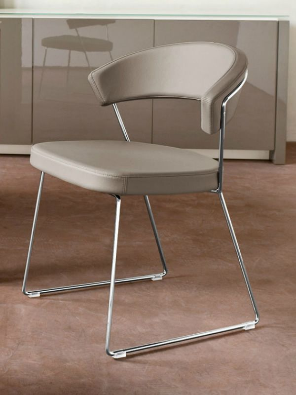 spesso CB1022-SK New York - Sedia Connubia - Calligaris in metallo con  MK97