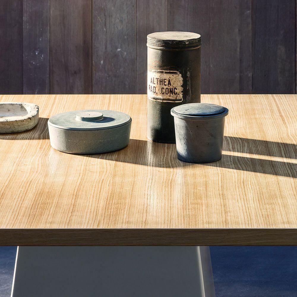 Inout 35 tavolo quadrato gervasoni in ceramica con for Creatore di piano casa personalizzato
