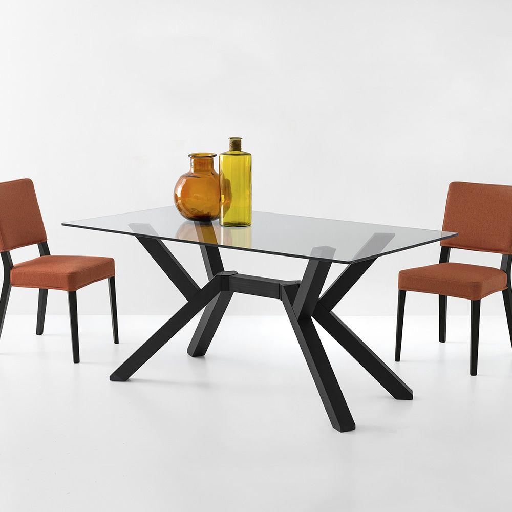Cb4728 rc mikado tavolo in legno connubia calligaris for Tavolo in legno design