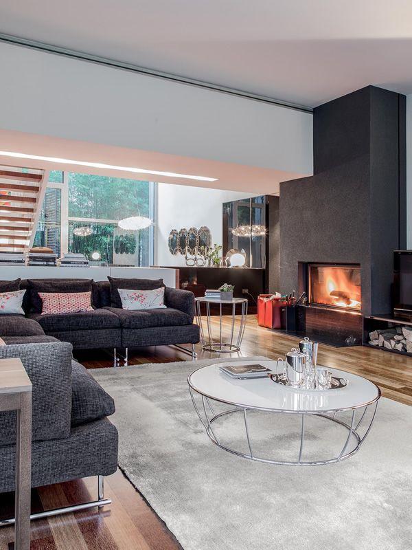 amburgo 6287 runder beistelltisch tonin casa aus metall glasplatte durchmesser 100 cm sediarreda. Black Bedroom Furniture Sets. Home Design Ideas