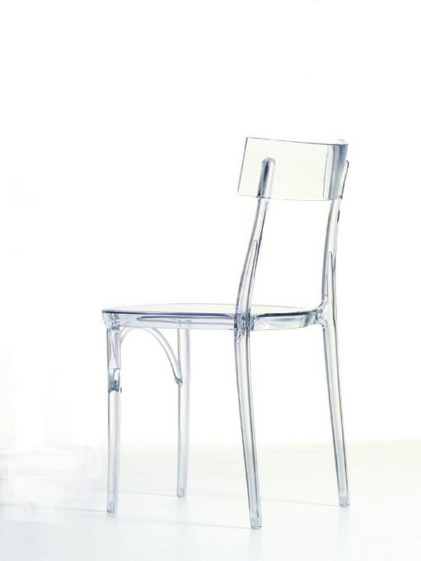 Milano 2015 sedia colico in policarbonato trasparente impilabile disponibile in diversi - Sedie di design outlet ...