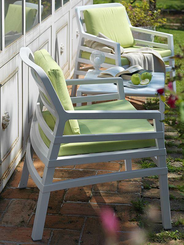 Cojines para sillones de jardin trendy cojin exterior for Almohadones para sillones jardin
