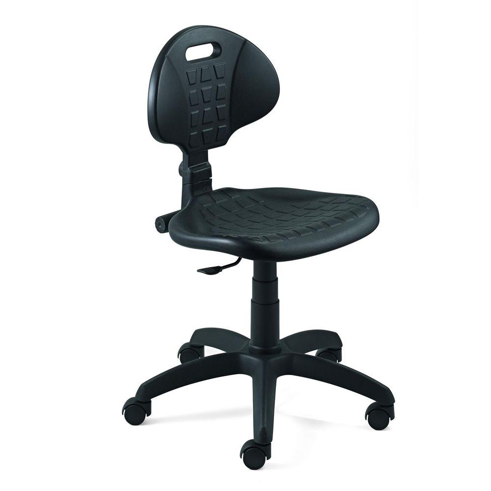 ML426: Silla operativa para oficina, con asiento y respaldo de ...