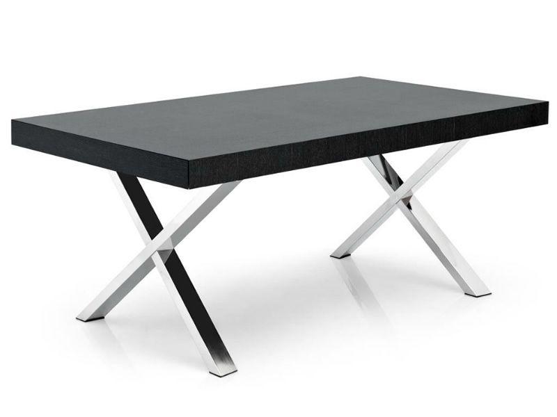 Cs4060 r axel tavolo calligaris in metallo piano in legno 180 x