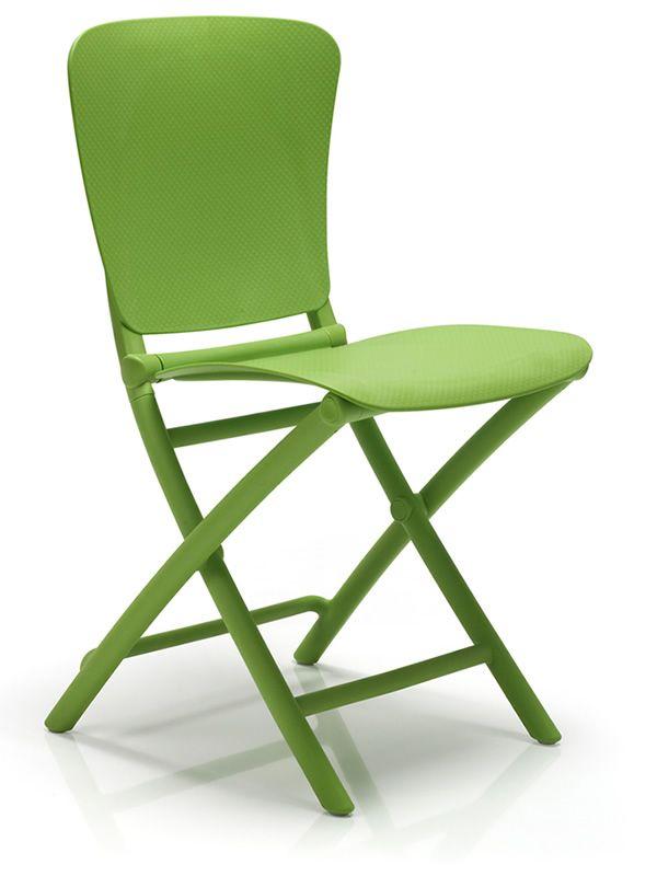 zac classic klappbarer stuhl aus polypropylen f r garten sediarreda. Black Bedroom Furniture Sets. Home Design Ideas
