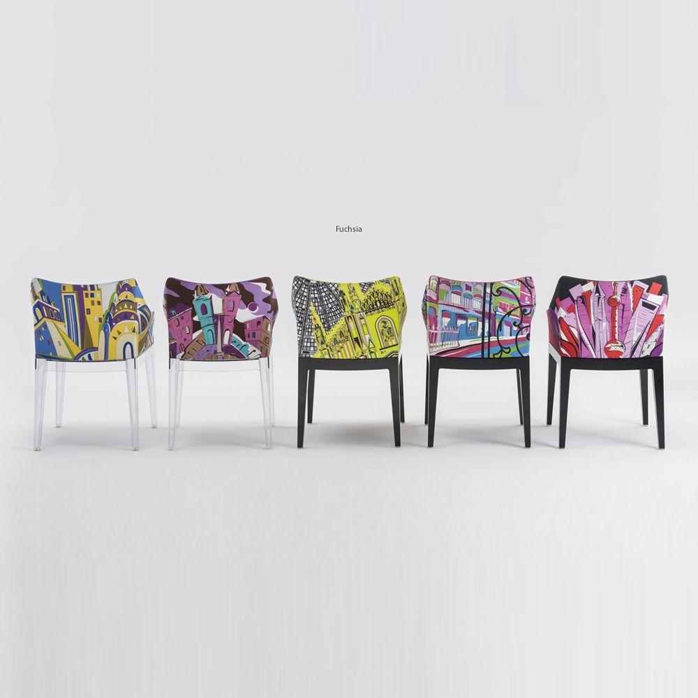 madame pucci edition petit fauteuil design kartell dition world of emilio pucci rembourr. Black Bedroom Furniture Sets. Home Design Ideas