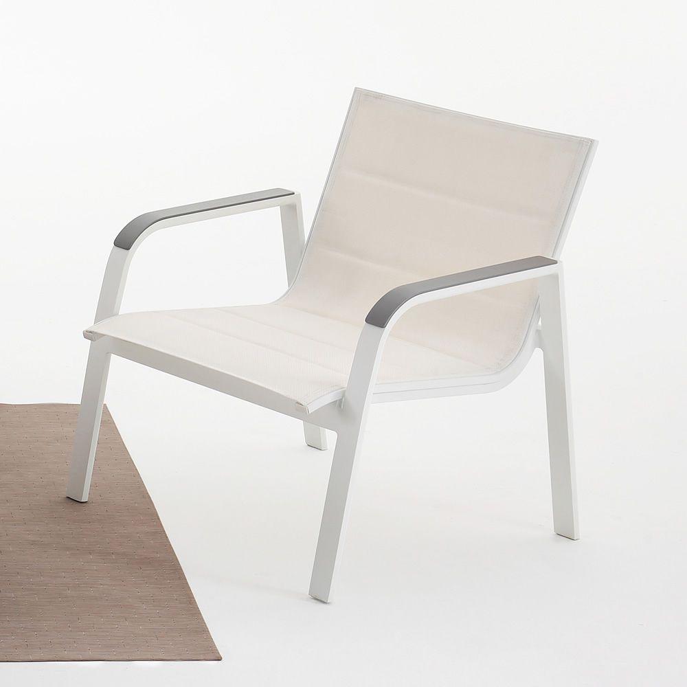 Sans souci set de jardin en aluminium et textil ne for Les echanges exterieur cours