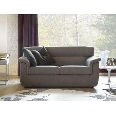 Trick - Divano moderno completamente sfoderabile, anche divano letto