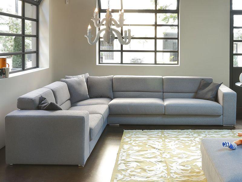 Matrix a divano moderno a 3 posti maxi con angolare e for Divano angolare 3 posti