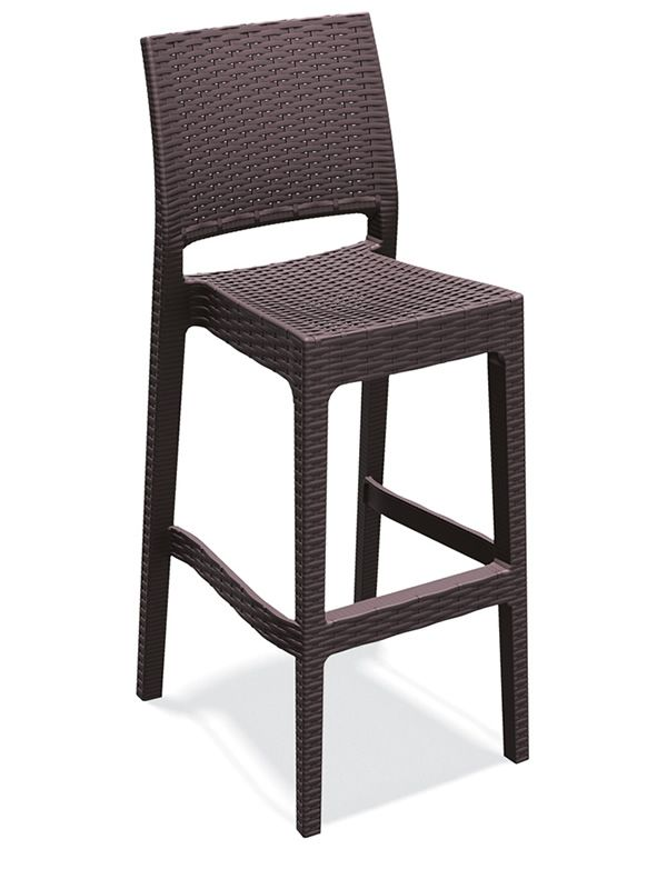 tt1012 tabouret haut pour bar en r sine et fibre de. Black Bedroom Furniture Sets. Home Design Ideas