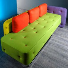Chew - Designer sofa Adrenalina, available in 2 or 3 places