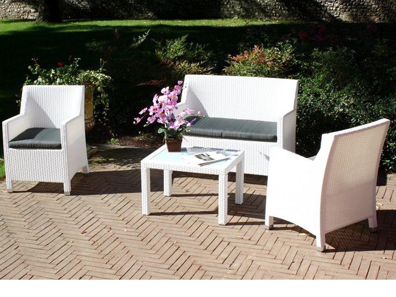 Chaises et tables par offres vente en ligne chaises tables - Salon de jardin fin de serie ...