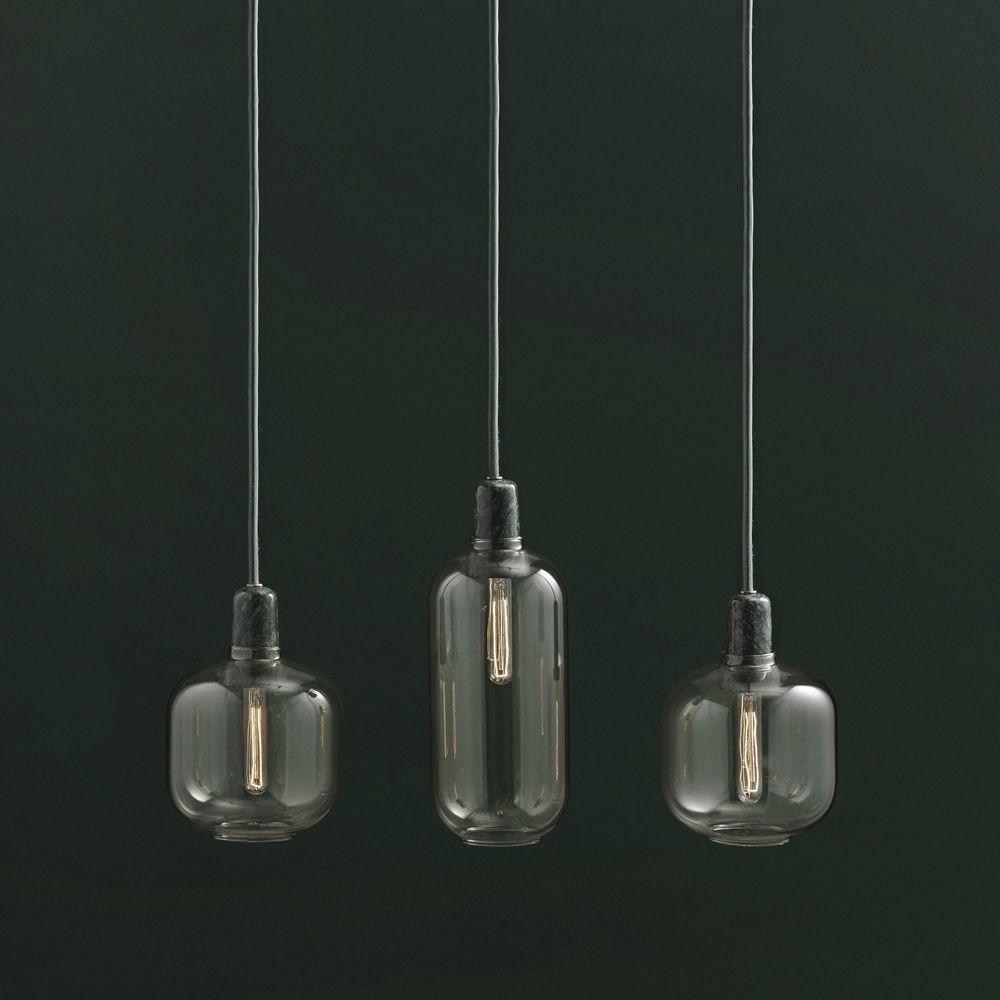 Lampada Sospensione Vetro Metallo Alien : Amp lampada a sospensione normann copenhagen in vetro e