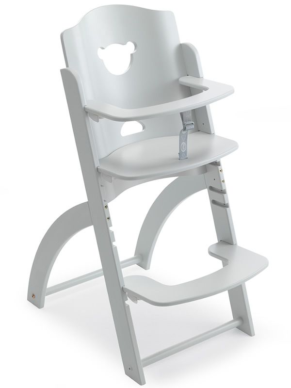 Pappy Re Wooden High Chair In White Colour