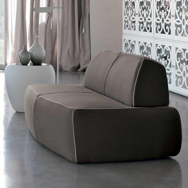 Blum a divano moderno tonin casa a 4 posti con rivestimento in tessuto pelle o similpelle - Divano pelle o tessuto ...